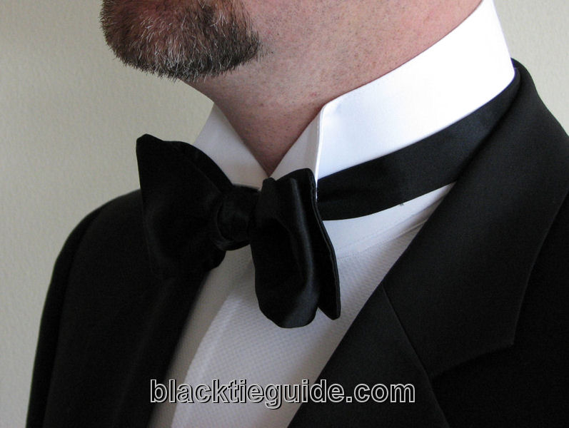 Black tie guide classic shirts for Wing tip collar shirt