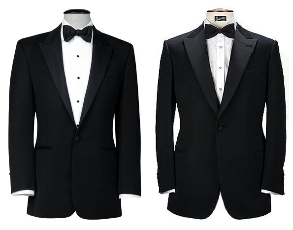 difference between black tie and white tie