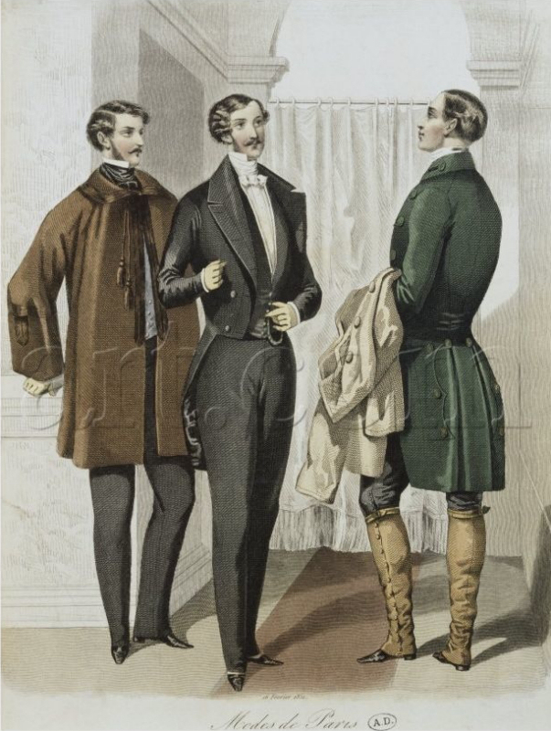 1850s mens fashion 1850 british evening dress