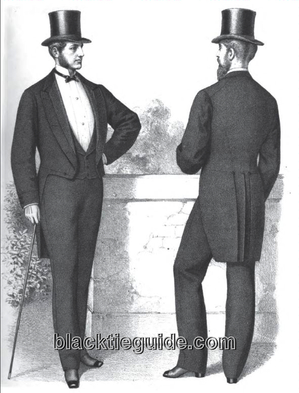 Black Tie Guide History Early Mid Victorian