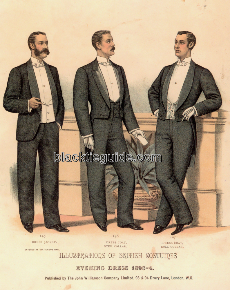 Black Tie Guide History Late Victorian