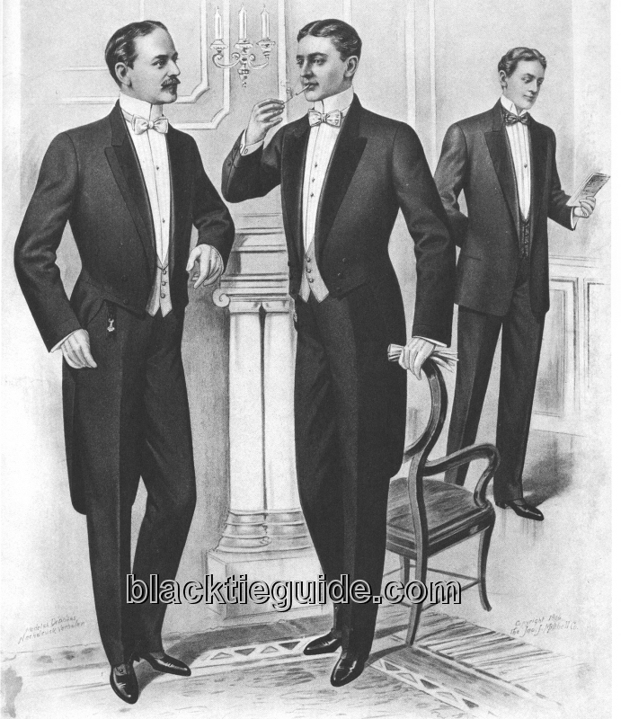 black tie guide history edwardian era