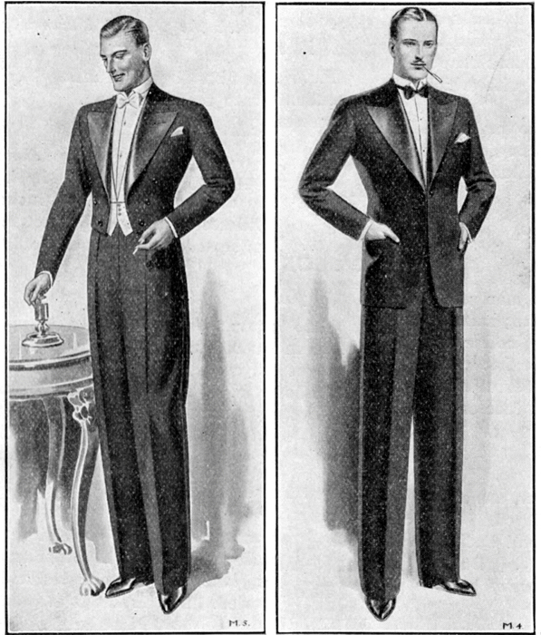 Black Tie Guide   History: Depression Era