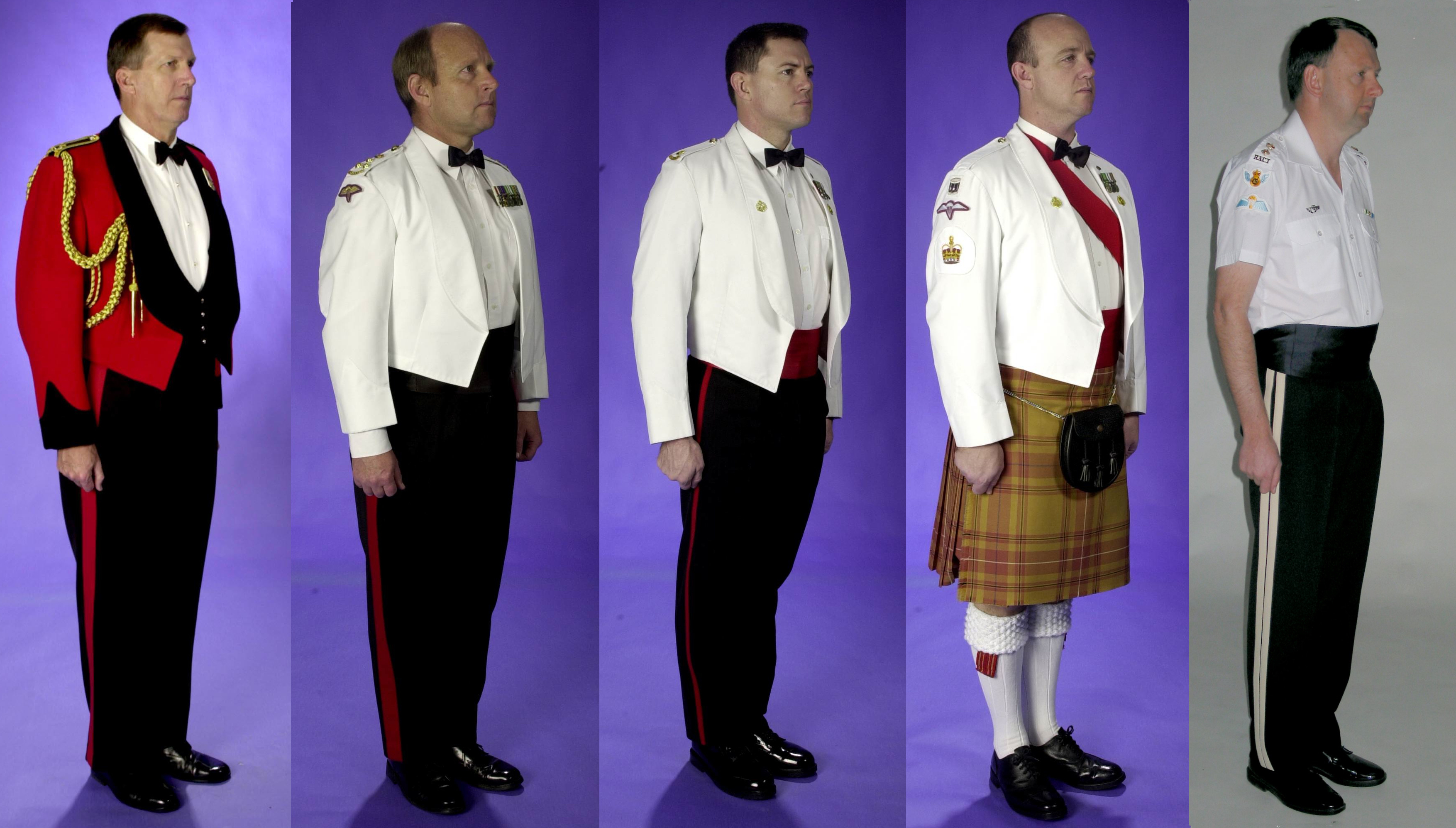 USMC Regulations Dress Evening Wear
