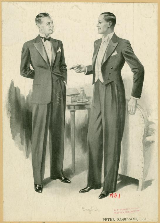 requiring more than ordinary street clothes ( New Book of Etiquette
