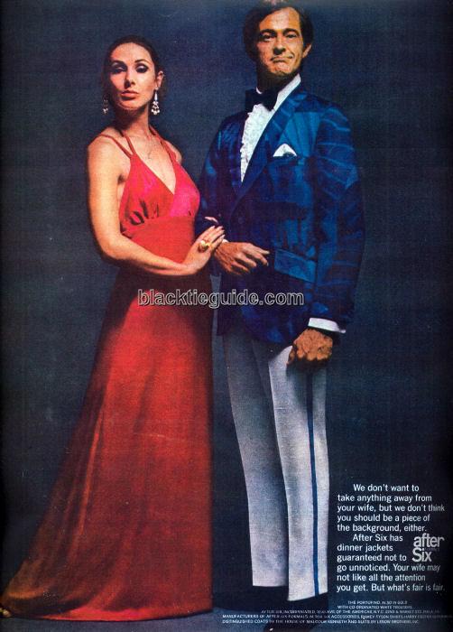 Black Tie Guide Vintage Retro