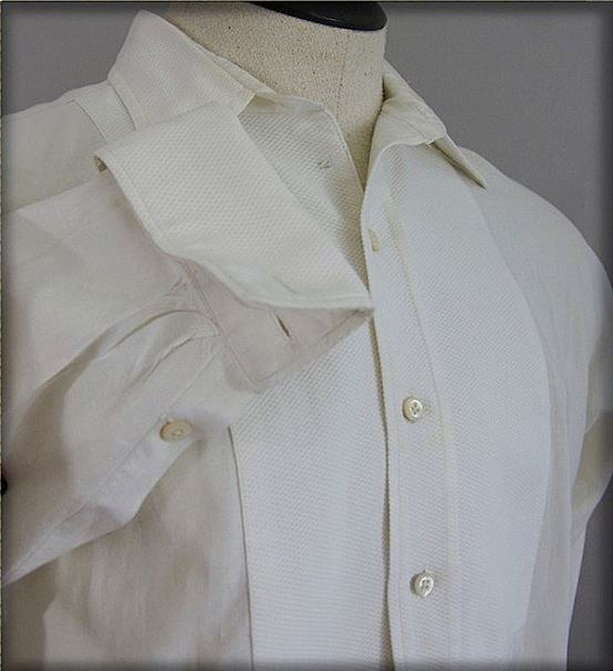 Old fashioned dress shirts