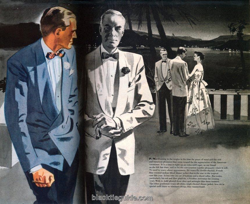 Black Tie Guide Vintage Warm Weather