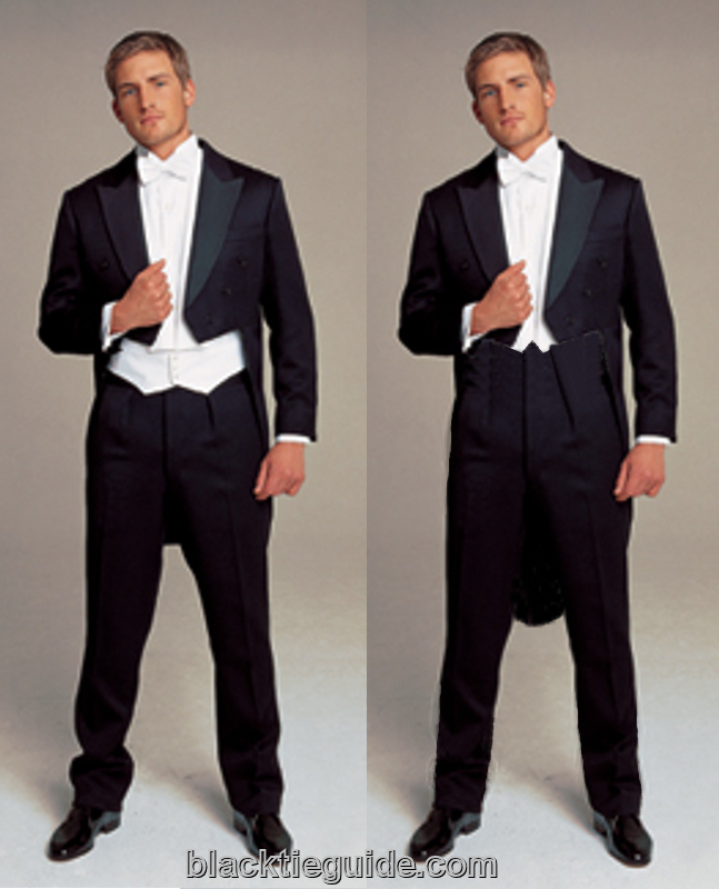 Black Tie Guide White Tie Tailcoat Amp Trousers